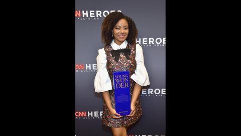2017 CNN Young Wonder Haile Thomas