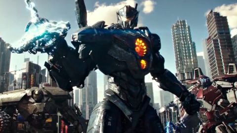 """""""Star Wars"""" actor John Boyega stars in <strong>""""Pacific Rim: Uprising,""""</strong> the follow up to Guillermo del Toro's hit sci-fi film. It comes to theaters in February 2018."""