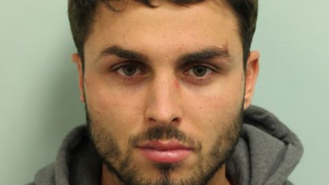 Acid attack perpetrator Arthur Collins who has been jailed for 20 years for an incident in a London nightclub in which 22 people were injured.