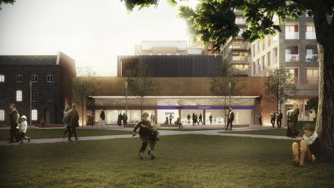 Ten new stations will be built, including Woolwich Station, pictured here.