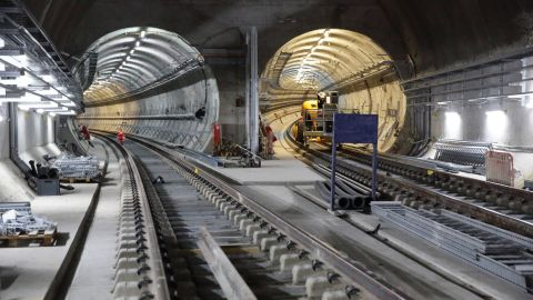 It will also cut some journey times significantly: a trip from Paddington to Liverpool Street will fall from 23 minutes to 10 minutes.