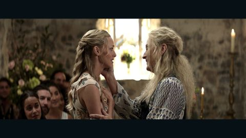 """Amanda Seyfried and Meryl Streep star in """"Mamma Mia! Here We Go Again."""""""
