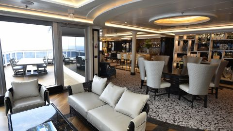 As bragging rights go, one of the world's largest suites at sea comes in at a cool $10,000 or so a night aboard the Regent Seven Seas Explorer.