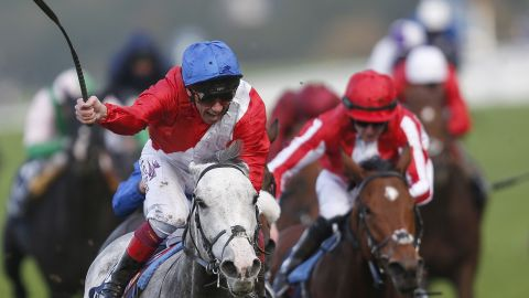 In the Queen Elizabeth II Stakes at Ascot in October, Dettori rode four-year-old filly Persuasive to her first win of the season.