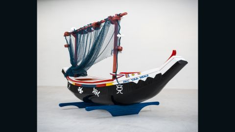 Sutherland and Paa Joe both come from coastal societies and hope to engage with water-inspired coffins through the exhibition.