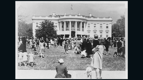 Easter Egg Roll at the White House, 1944.
