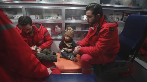 Evacuations began in Eastern Ghouta. Critical patients are being moved on Damascus to receive care.