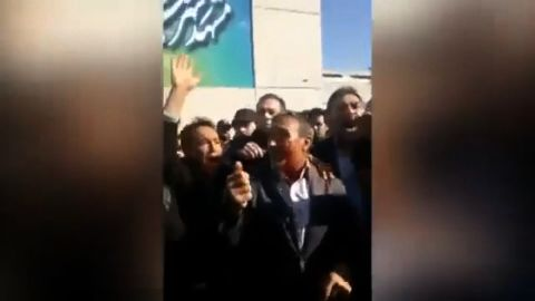 title: Iran Uprising against the high living expenses people chanting Death to Rouhani  duration: 00:06:04  sub-clip duration: 1:05  site: Youtube  author: null  published: Thu Dec 28 2017 11:42:20 GMT-0500 (Eastern Standard Time)  intervention: no  description:
