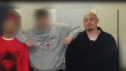 Andrew Finch, right, was killed after police received a false report of a hostage situation.