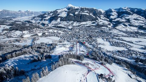 <strong>Sparkling gem:</strong> Kitzbuhel is a<strong> </strong>former silver mining town and a medieval jewel in the heart of Austria's Tirol, 60 miles east of Innsbruck.