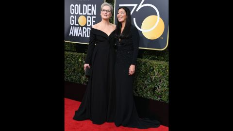 Meryl Streep, left, and Ai-jen Poo, the head of the National Domestic Workers Alliance