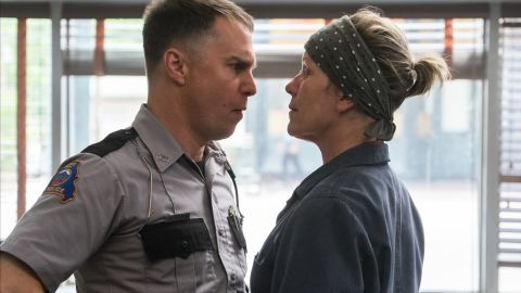 """<strong>Best supporting actor in a motion picture:</strong> Sam Rockwell, """"Three Billboards Outside Ebbing, Missouri"""""""