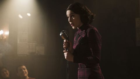 """<strong>Best actress in a television series -- musical or comedy:</strong> Rachel Brosnahan, """"The Marvelous Mrs. Maisel"""""""