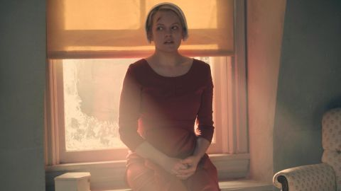 """<strong>Best actress in a television series -- drama:</strong> Elisabeth Moss, """"The Handmaid's Tale"""""""