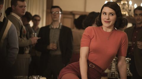 """<strong>Best television series -- musical or comedy:</strong> """"The Marvelous Mrs. Maisel"""""""