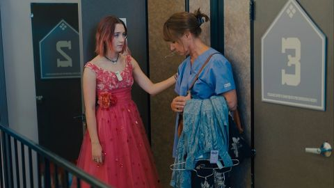"""<strong>Best motion picture -- musical or comedy:</strong> """"Lady Bird"""""""
