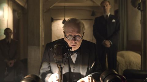 """<strong>Best actor in a motion picture -- drama:</strong> Gary Oldman, """"Darkest Hour"""""""