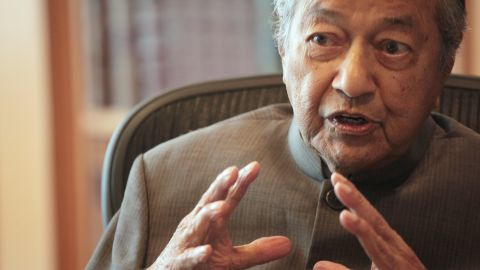 Dr Mahathir was interviewed by CNN at his office in Putrajaya on Tuesday, Jan 2, 2018