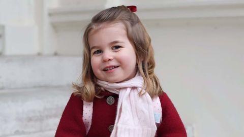 Princess Charlotte begins nursery school