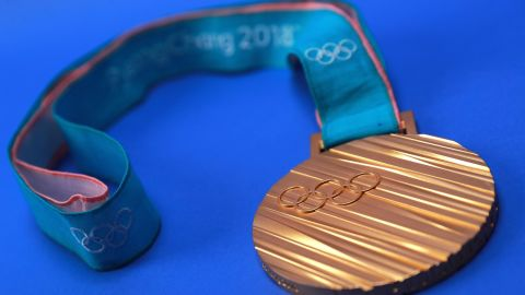 The PyeonChang 2018 gold medal.