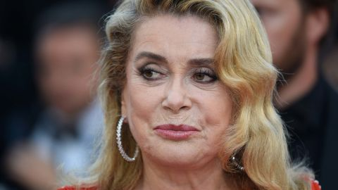 CANNES, FRANCE - MAY 23:  Catherine Deneuve  attends the 70th Anniversary of the 70th annual Cannes Film Festival at Palais des Festivals on May 23, 2017 in Cannes, France.  (Photo by Antony Jones/Getty Images)