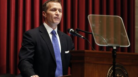 Missouri Gov. Eric Greitens delivered the annual State of the State address to a joint session of the House and Senate on Wednesday.