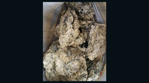 The fatberg, a congealed lump of grease, fat and non-flushable items such as wet wipes and condoms, sticks to sewer walls and can become as hard as concrete.