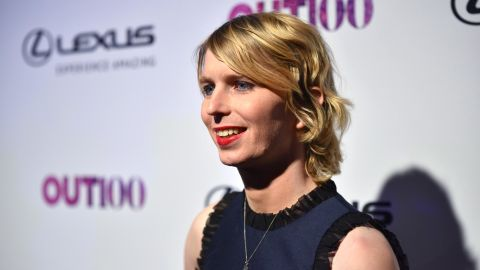 NEW YORK, NY - NOVEMBER 09:  OUT100 Newsmaker of the Year Chelsea Manning attends OUT Magazine #OUT100 Event presented by Lexus at the the Altman Building on November 9, 2017 in New York City.  (Photo by Bryan Bedder/Getty Images for OUT Magazine)
