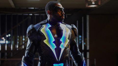 "Cress Williams stars as Jefferson Pierce/Black Lightning in the new series ""Black Lightning."""