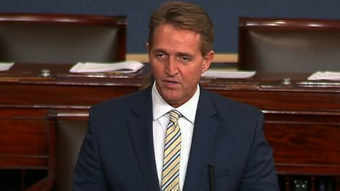 """Senator Jeff Flake (R-Arizona) will be live from the Senate floor at approximately 10:15aE. Flake is expected to speak about  President Trump and """"fake news claims not good for Democracy"""""""