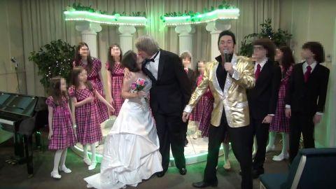 turpin wedding video screengrab
