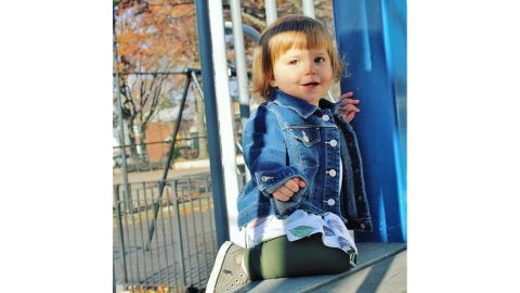 Anastasia Brif, 23 months, is named after two Olympians