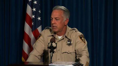 NS Slug: VEGAS SHOOTING:SHERIFF-NO RADICAL IDEOLOGY FOUND  Synopsis: Sheriff: Las Vegas shooter didn't leave behind suicide note or manifesto  Keywords: NEVADA LAS VEGAS SHOOTING JUSTICE LEGAL