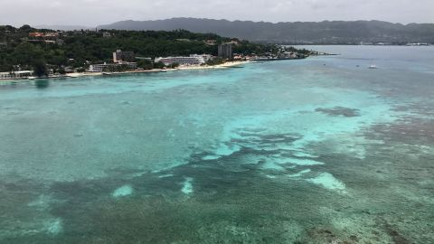 Montego Bay in St James Parish is a popular destination for international tourists.