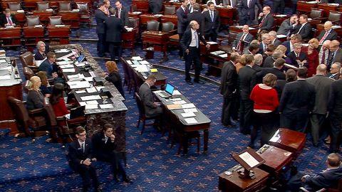U.S. Capitol, Senate Floor