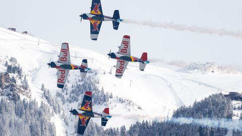 <strong>Carnival atmosphere: </strong>The race weekend is a huge occasion with vast crowds flocking to see the racing and revel in Kitzbuhel's cobbled streets.