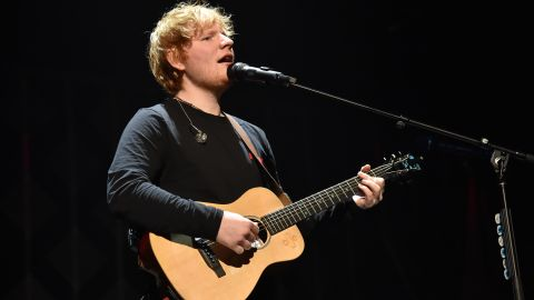 NEW YORK, NY - DECEMBER 08:  Ed Sheeran performs at the Z100's Jingle Ball 2017 on December 8, 2017 in New York City.  (Photo by Mike Coppola/Getty Images)