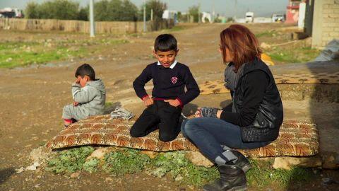 kidnapped yazidi child raised by american isis fighter damon pkg_00003130.jpg