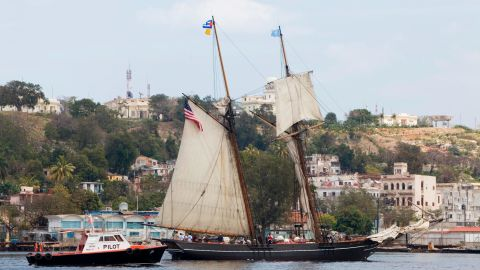 This schooner, seen in Havana, Cuba, in 2010, is a replica of mid-1800s slave ships like the Amistad and the Clotilda.