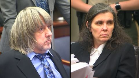 David and Louise Turpin in court.