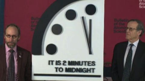 """DOOMSDAY CLOCK"""" UPDATE SCHEDULED FOR JANUARY 25TH IN WASHINGTON, D.C.  Announcement Comes at Time of High Focus on a Range of Nuclear Issues.  The Bulletin of the Atomic Scientists will host a live international news conference at 10 a.m. EST/1500 GMT on January 25, 2018 to announce whether the minute hand of the iconic """"Doomsday Clock"""" will be adjusted. The decision is made by the Bulletin of the Atomic Scientists' Science and Security Board in consultation with the Board of Sponsors, which includes 15 Nobel Laureates.  The factors contributing to the decision about the Doomsday Clock time will be outlined on January 25th.  In January 2017, the Doomsday Clock's minute hand crept forward by 30 seconds, to two and half minutes before midnight, the closest it has been to midnight since the 1950s. For the first time, the Doomsday Clock was influenced by statements from an incoming US President, Donald Trump, regarding the proliferation and the prospect of actually using nuclear weapons. The Clock was not moved f"""
