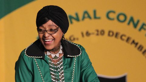 """Winnie Madikizela-Mandela, an anti-apartheid activist in South Africa and the former wife of late President Nelson Mandela, <a href=""""https://www.cnn.com/2018/04/02/africa/winnie-mandela-south-africa-intl/index.html"""" target=""""_blank"""">has died</a> at the age of 81. The outspoken campaigner was known as the """"Mother of the Nation"""" because of her struggle against white minority rule in South Africa. She was a member of South Africa's parliament at the time of her death."""