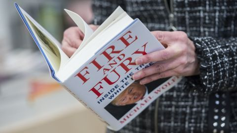 """The Coeur d'Alene, Idaho, public library has had to buy three copies of """"Fire and Fury: Inside the Trump White House"""" by Michael Wolff because someone keeps hiding it."""