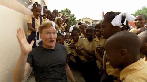 conan obrien haiti elementary school