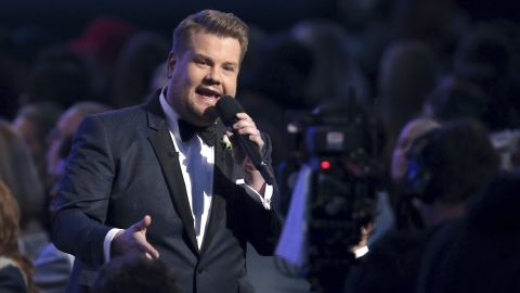 James Corden was the host for the second straight year.