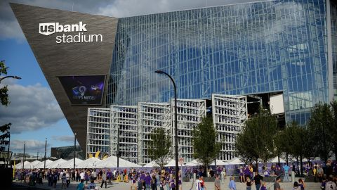U.S. Bank Stadium in Minneapolis. Thankfully, it's got a roof.
