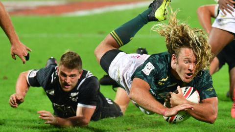Last year's world champion South Africa started this season as they ended the last. The Blitzboks <a href=