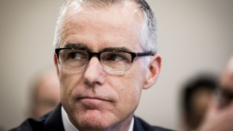 WASHINGTON, DC - JUNE 21:  Acting FBI Director Andrew McCabe testifies before a House Appropriations subcommittee meeting on the FBI's budget requests for FY2018 on June 21, 2017 in Washington, DC. McCabe became acting director in May, following President Trump's dismissal of James Comey.  (Photo by Pete Marovich/Getty Images)