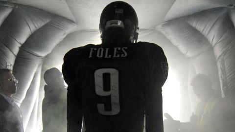 Foles with the Eagles in 2012.