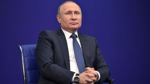 """Russian President Vladimir Putin has admitted to """"instances"""" of doping in Russia, but once again argued there are """"many such examples around the world."""""""